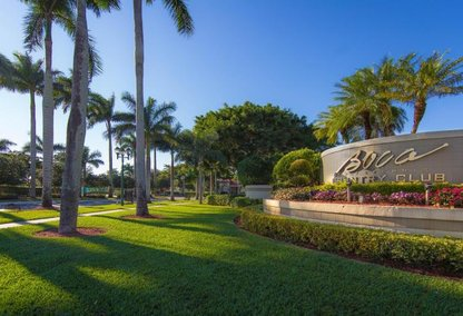 Boca Country Club in Boca Raton, Florida