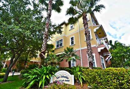 Delray Sebastian Townhouses in Downtown Delray Beach