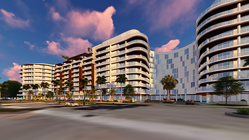 Downtown Boca Raton - Mizner 200 New Design for Condos