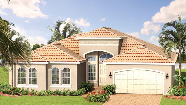 Christine Floor Plan in Valencia Pointe