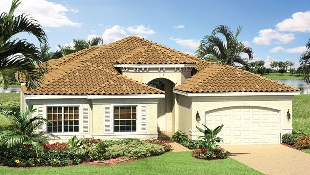Victoria Floor Plan in Valencia Pointe