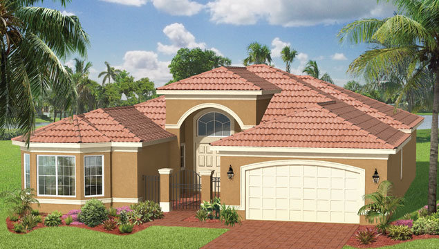 Pamplona Floor Plan in Valencia Pointe