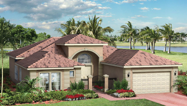 Catherine Floor Plan in Valencia Pointe