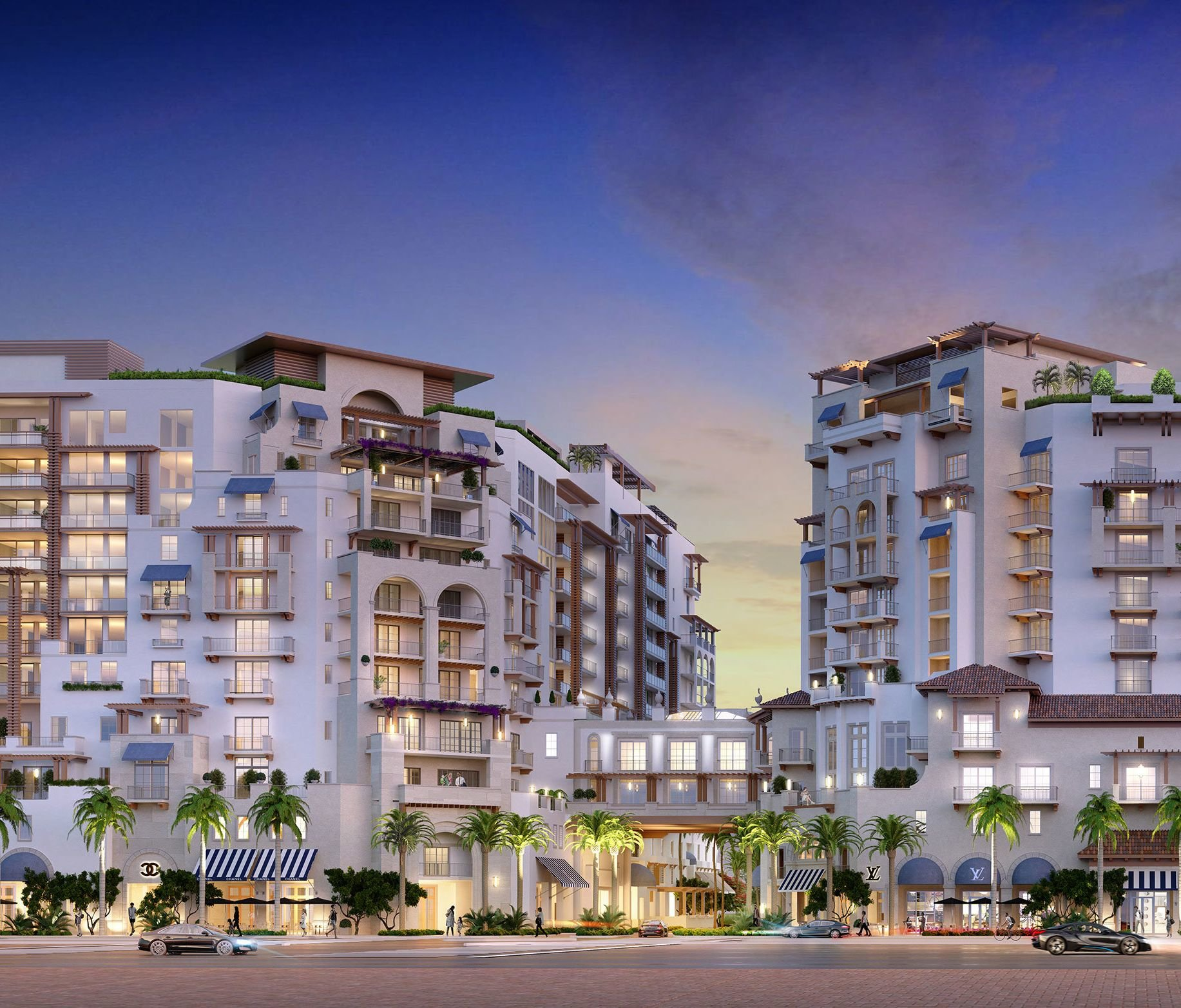 Boca Raton New Developments include The Mandarin Oriental
