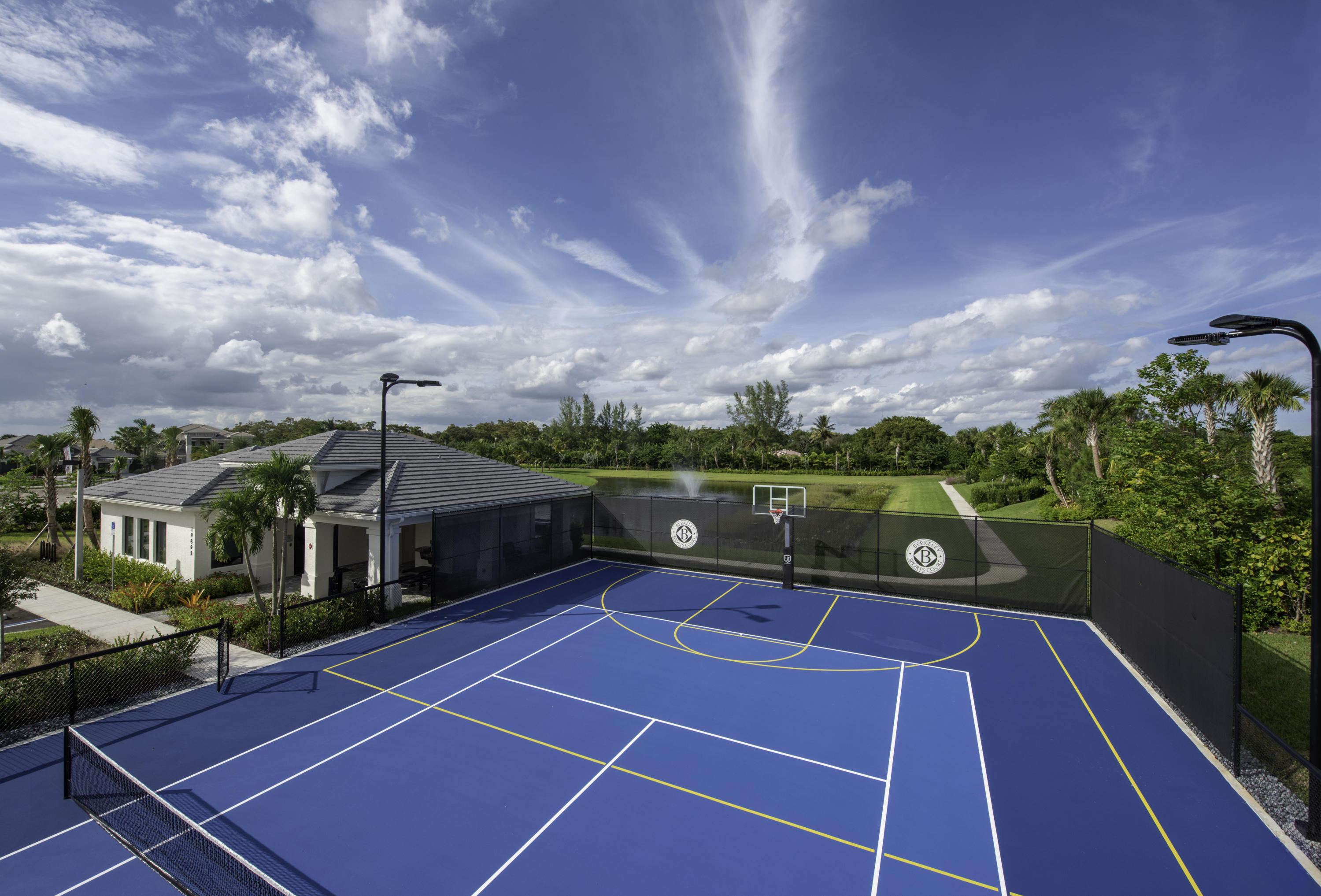 Berkeley Boca Tennis Courts