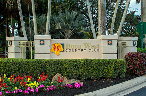Boca West Country Club Boca Raton Golf Course Real Estate