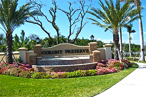 Colony Preserve in Boynton Beach, Florida