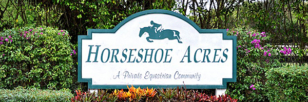 Horseshoe Acres Boca Raton Equestrian Real Estate