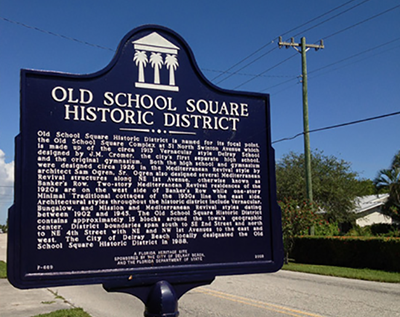 Old School Square Historic District In Delray