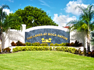 The Lakes at Boca Raton Real Estate