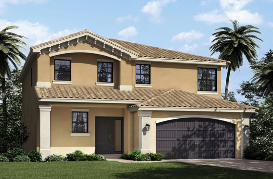 Tuscany New Homes in Delray Beach, FL - Verona Model