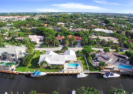 Waterfront Homes and Condos in South Florida