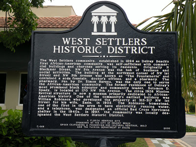 West Settlers Historic District in Delray Beach FL