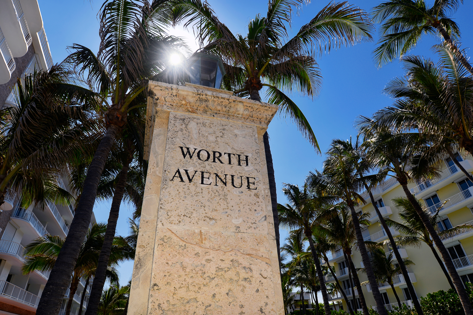 Worth Avenue In Palm Beach Florida